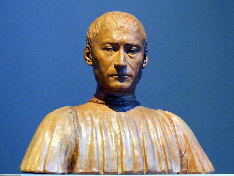 Benedetto da Maiano: Filippo Strozzi, 1475