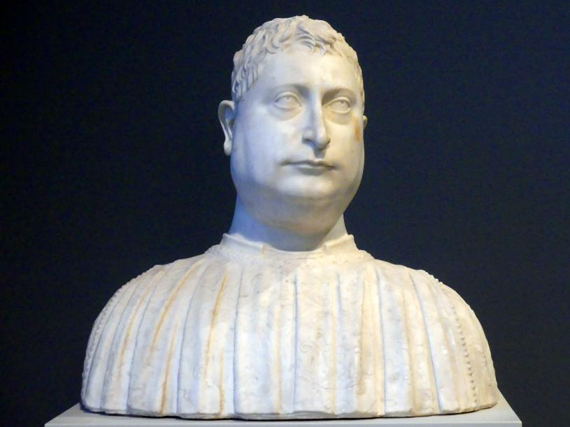 Mino da Fiesole: Niccolò Strozzi, 1454