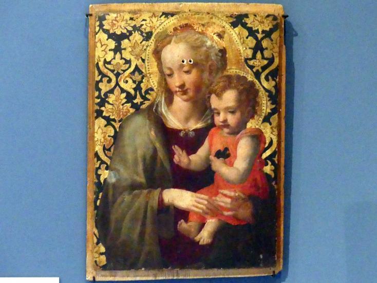 Michele di Ridolfo del Ghirlandaio (Michele Tosini): Madonna mit Kind, um 1430 - 1440