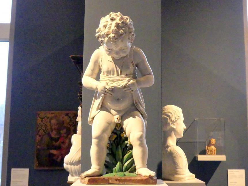 Girolamo della Robbia: Pinkelnder Knabe als Brunnenfigur, um 1515 - 1520