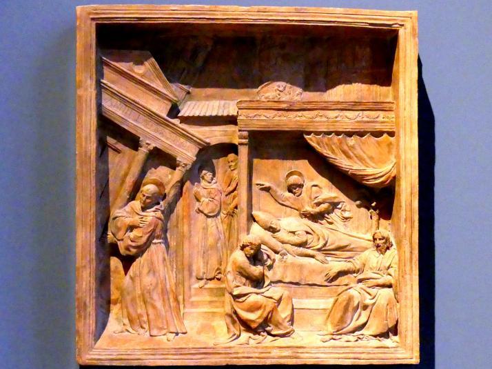Benedetto da Maiano: Die Vision von Papst Innozenz III., um 1480 - 1481
