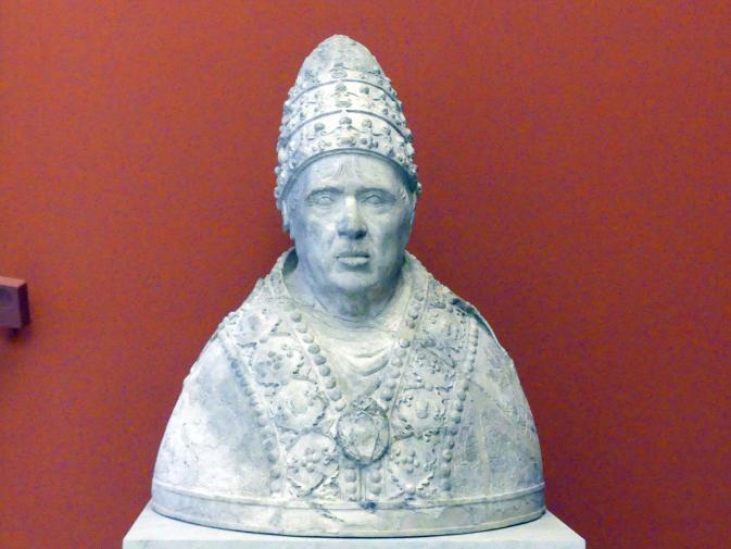 Bildnis Papst Alexander VI., Ende 15. Jhd.