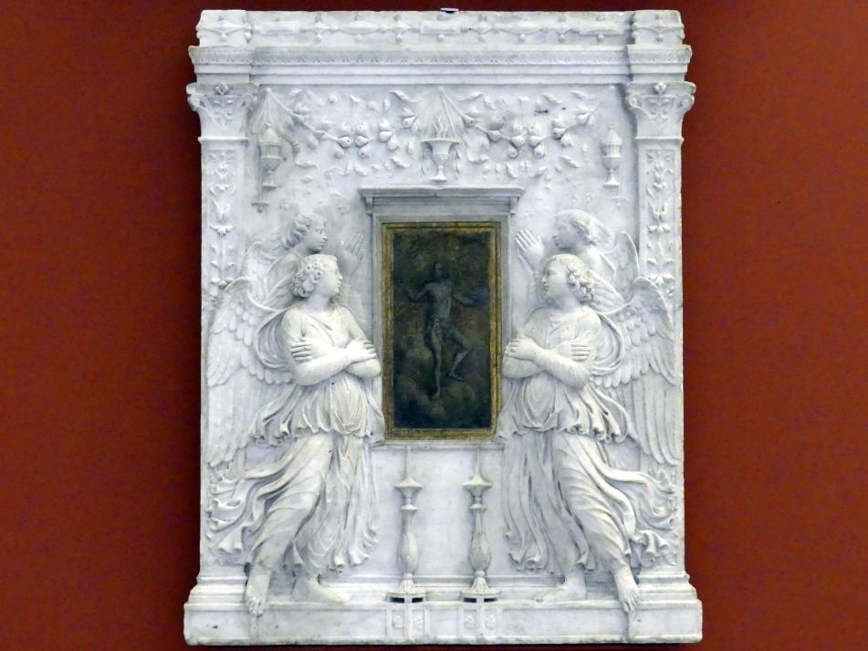 Andrea Bregno (Werkstatt): Sakramentstabernakel (Fragment), 1501
