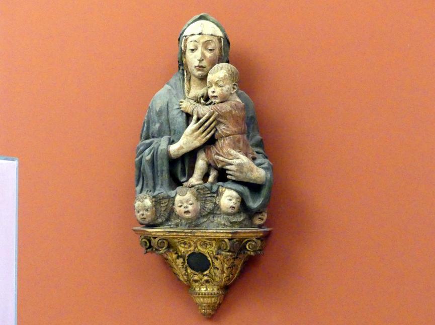 Sperandio di Bartolommeo de' Savelli: Madonna mit fünf Cherubim, um 1480