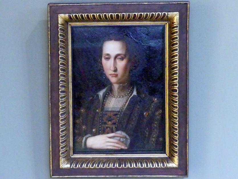Alessandro Allori: Eleonora von Toledo, Herzogin von Toskana (1519-1562), um 1560 - 1562
