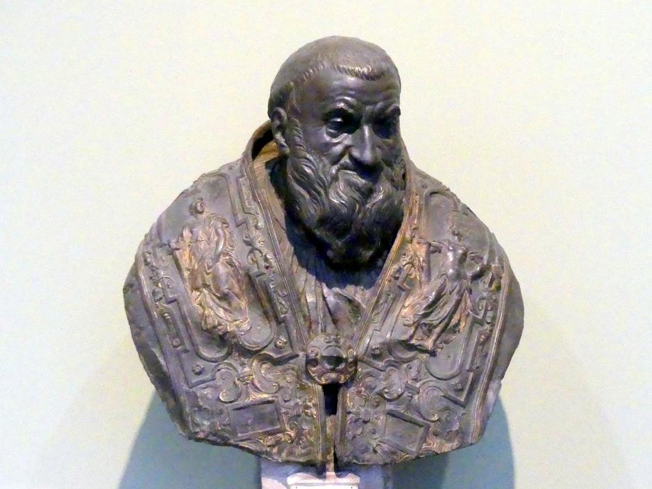 Taddeo Landini: Papst Sixtus V. Peretti Montalto, um 1585 - 1590