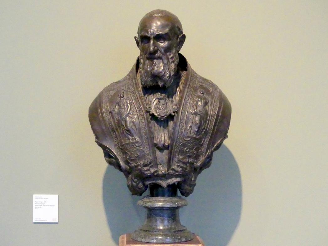 Taddeo Landini: Papst Gregor XIII. Buoncompagni, um 1580