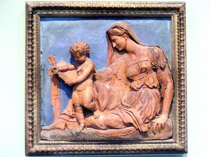 Francesco da Sangallo: Maria mit dem lesenden Kind, um 1560