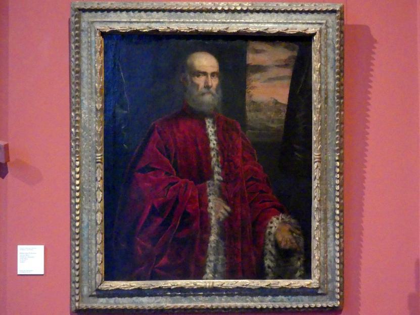 Domenico Robusti (Domenico Tintoretto): Bildnis eines Prokurators von San Marco, um 1590 - 1600