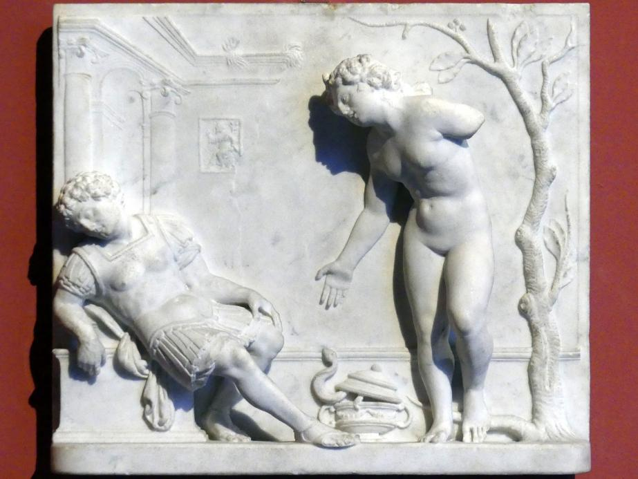 Giovanni Maria Mosca: Antonius und Kleopatra, um 1520 - 1530