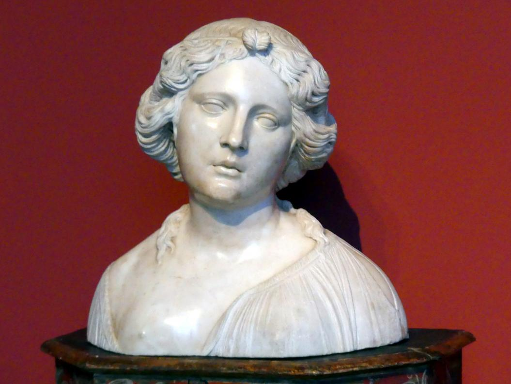 Simone Bianco: Bildnis einer jungen Frau, um 1520