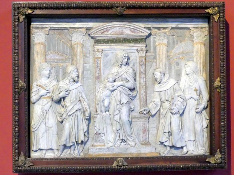 Jacopo Sansovino (Jacopo Tatti): Madonna mit Heiligen (Sacra Conversazione), um 1530 - 1540