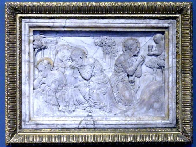 Nicolò Pizzolo (Nicolò Pizolo): Christus am Ölberg, um 1450