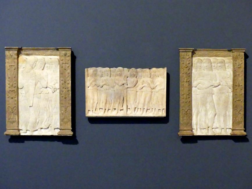 Giovanni di Antonio Buora: Singende und musizierende Engel, 2. Hälfte 15. Jhd.