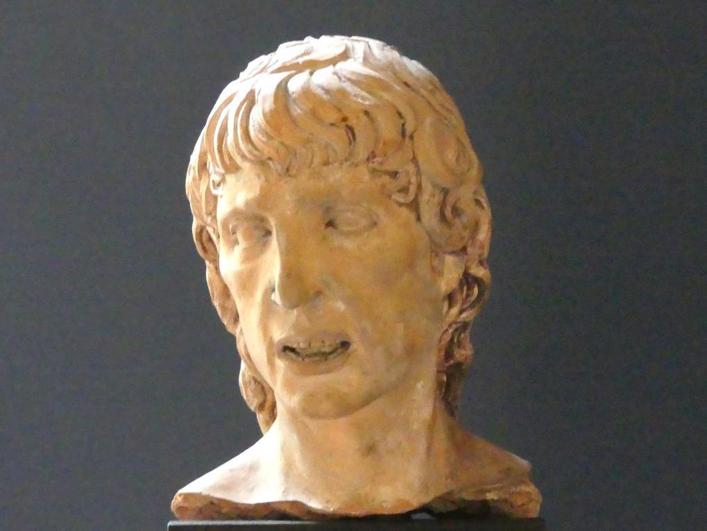 Agostino Fonduli: Kopf des hl. Sebastian, um 1500