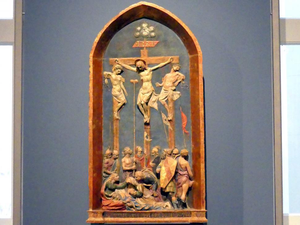 Jacopo della Quercia: Kreuzigung Christi, um 1420
