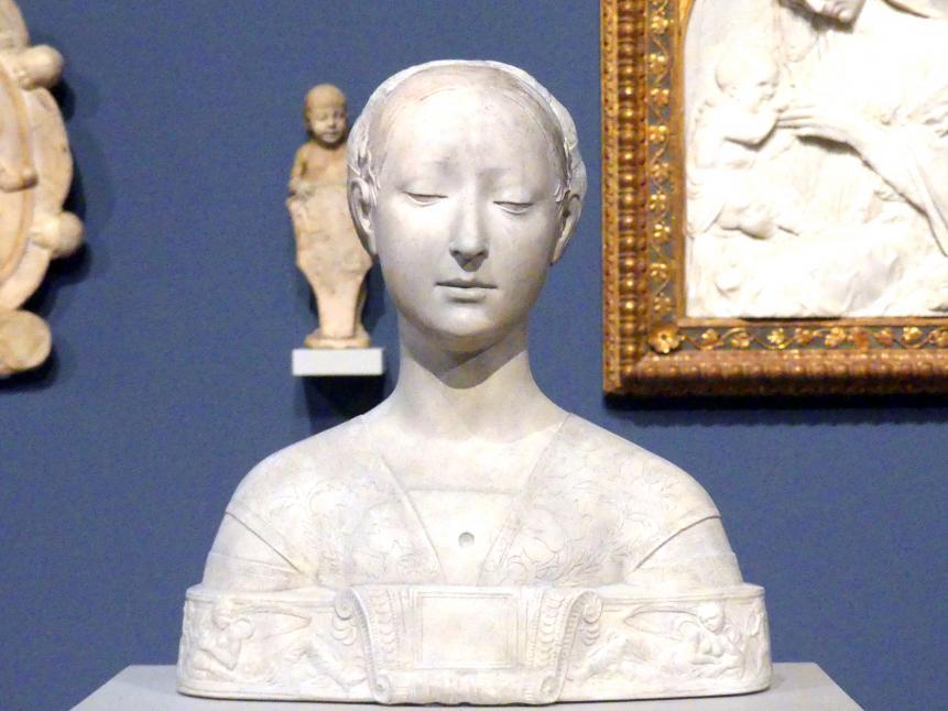 Francesco Laurana: Bildnis einer Prinzessin von Neapel, 1470 - 1480