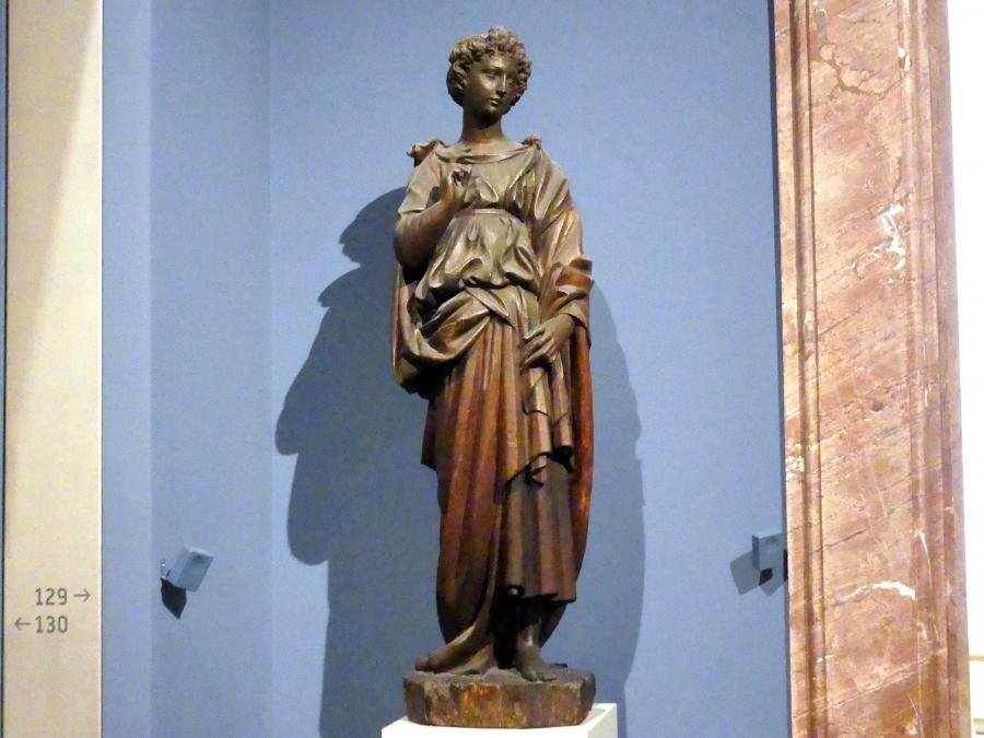 Jacopo della Quercia: Engel der Verkündigung, um 1410