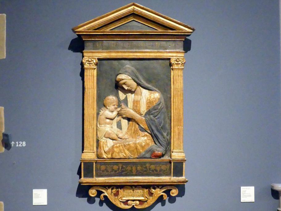 Francesco di Giorgio Martini (Nachahmer): Madonna, 2. Hälfte 15. Jhd.