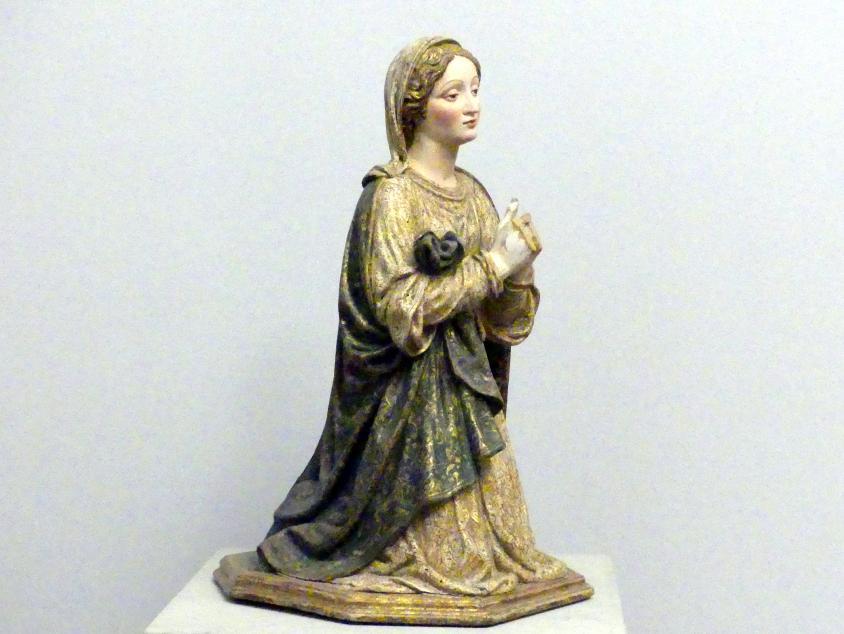 Andrea da Milano (Andrea da Saronno): Maria und Joseph aus einer Darstellung der Heiligen Familie, um 1520, Bild 3/6