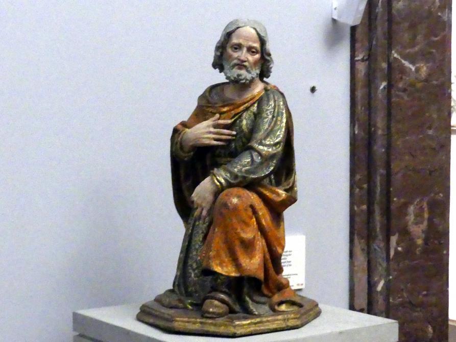 Andrea da Milano (Andrea da Saronno): Maria und Joseph aus einer Darstellung der Heiligen Familie, um 1520, Bild 4/6