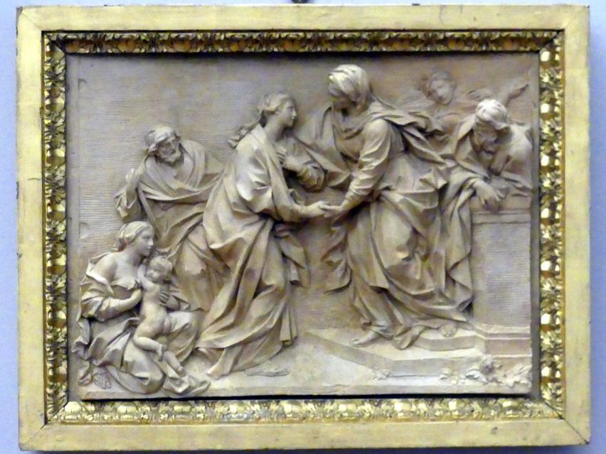 Filippo della Valle: Heimsuchung der Maria, 1748