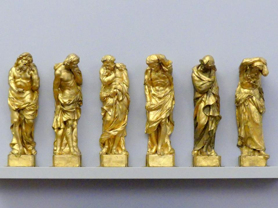 Giacomo Piazzetta: Sechs Gefangene, 1678 - 1681