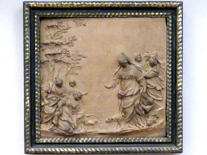 Giuseppe Maria Mazza: Auffindung des Mosesknaben, um 1690