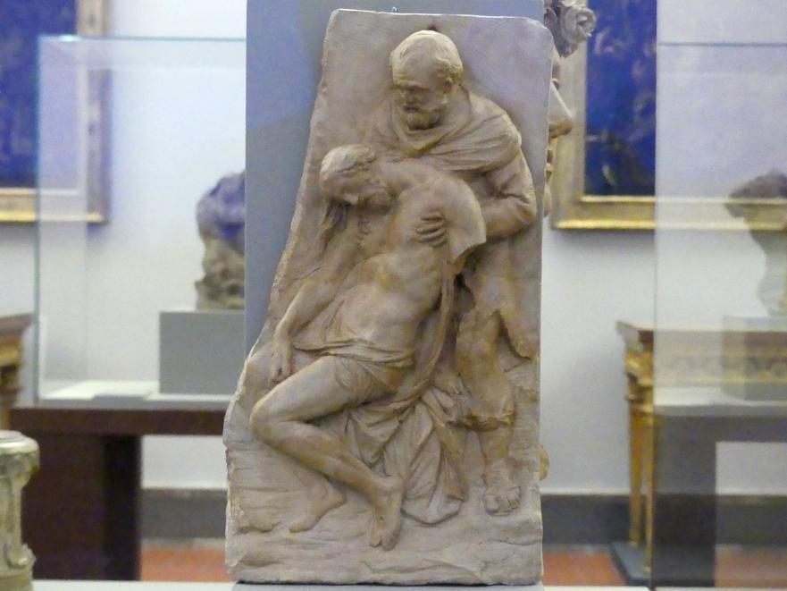 Stefano Maderno: Nikodemus hält den Leichnam Christi, 1605