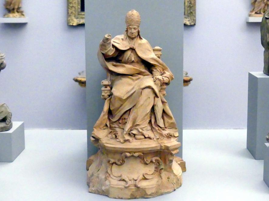 Angelo de Rossi: Papst Clemens XI. Albani, 1701