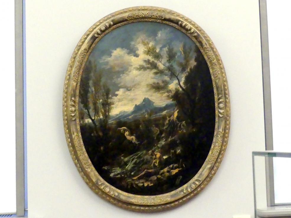 Alessandro Magnasco: Landschaft mit dem Hl. Eremiten Antonius, um 1725 - 1730