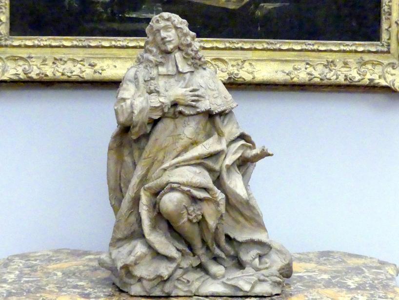 Domenico Guidi: Louis I. Phélypeaux de La Vrillière (1598–1681), französischer Staatsbeamter, vor 1686