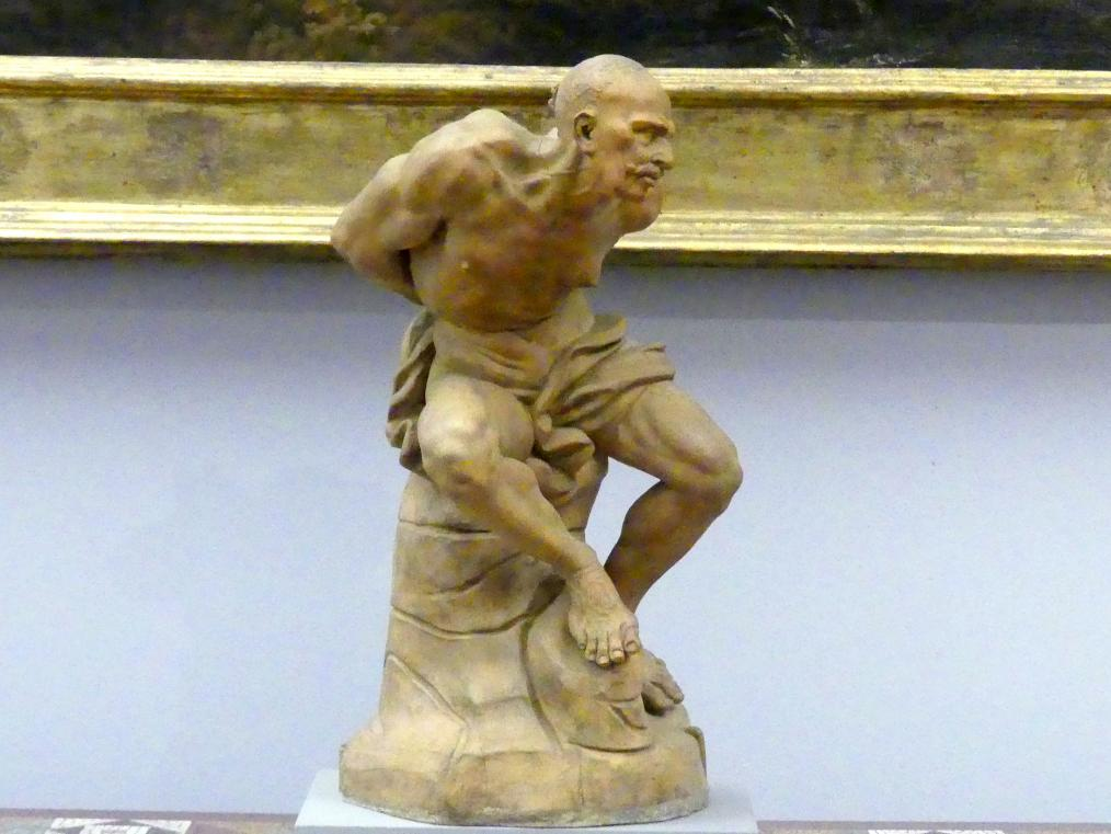 Giovanni Baratta: Gefesselter Korsar, um 1710 - 1720
