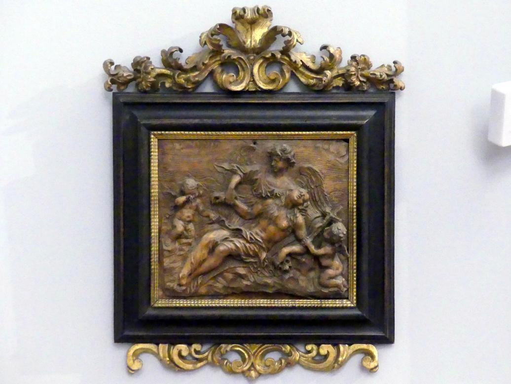 Giuseppe Mazzuoli: Der Tod der Hl. Maria Aegyptica, um 1675