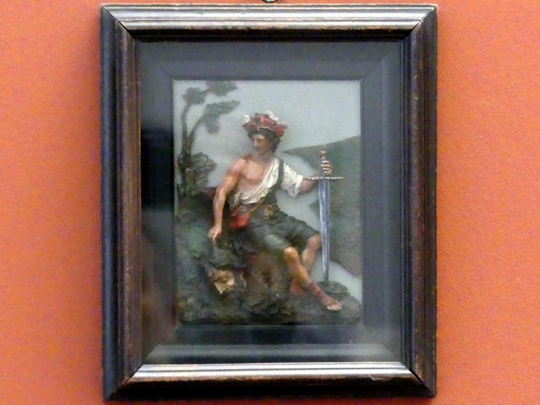 David mit dem Haupt Goliaths, um 1630
