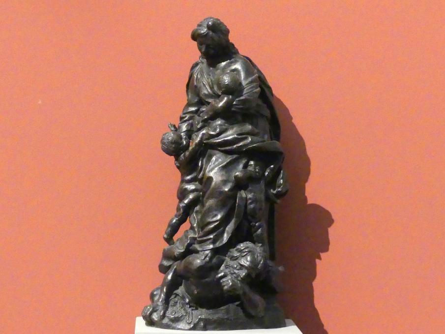 Giuseppe Mazzuoli: Caritas (Allegorie der Nächstenliebe), um 1670