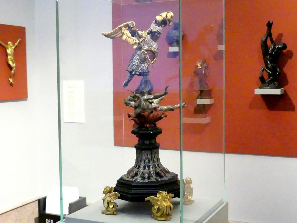 Lorenzo Vaccaro: Der Erzengel Michael besiegt Luzifer, 1685 - 1700