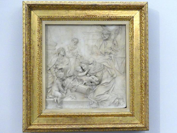 Pierre-Étienne Monnot: Heilige Familie, um 1700