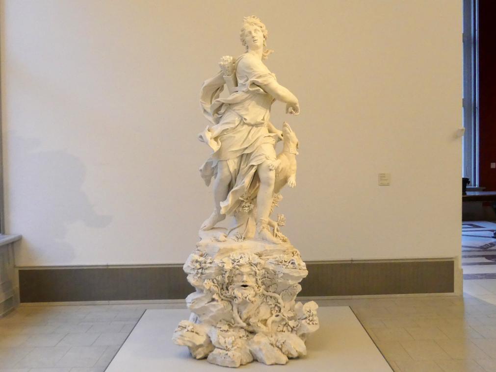 Bernardino Cametti: Diana als Jägerin, 1717 - 1720