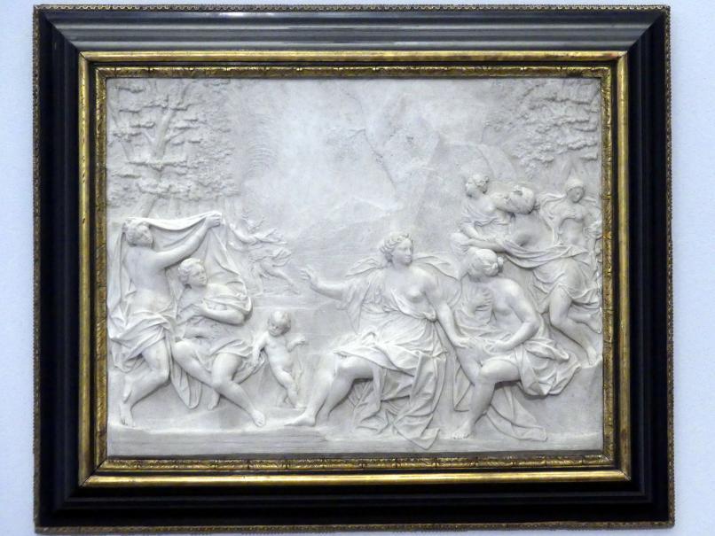 Giuseppe Maria Mazza: Diana mit den Nymphen, um 1710
