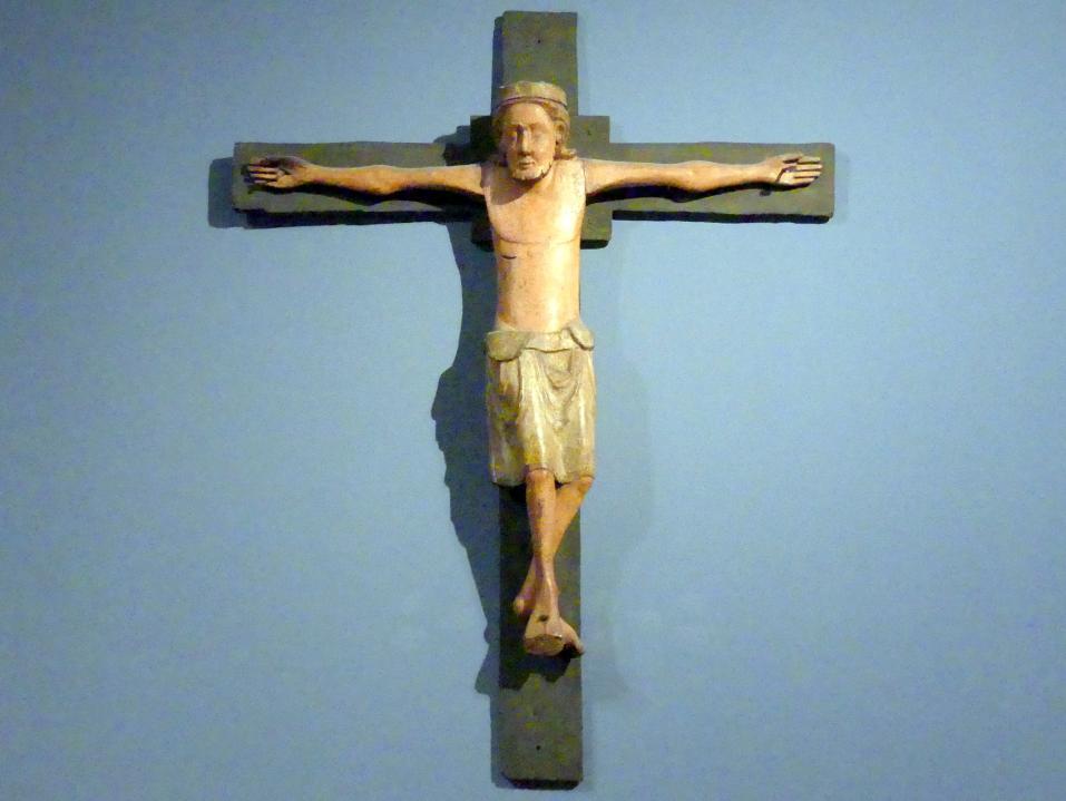 Christus am Kreuz, Mitte 13. Jhd.