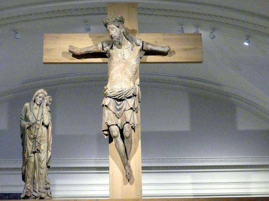 Christus und Maria aus einer Triumphkreuzgruppe, um 1220