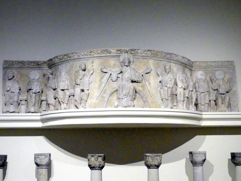 Emporenbrüstung aus dem Benediktinerkloster Gröningen bei Halberstadt, um 1160 - 1170