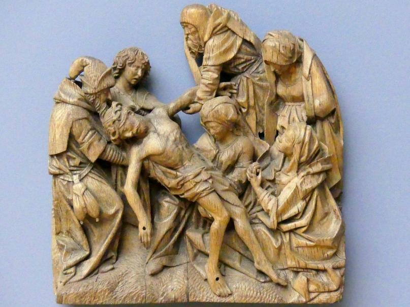 Adriaen van Wesel: Kreuzabnahme Christi, um 1480