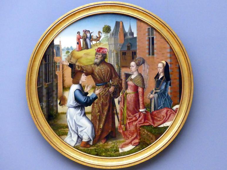 Meister der Josephsfolge: Joseph wird von Potiphar zum Verwalter eingesetzt, um 1490 - 1500