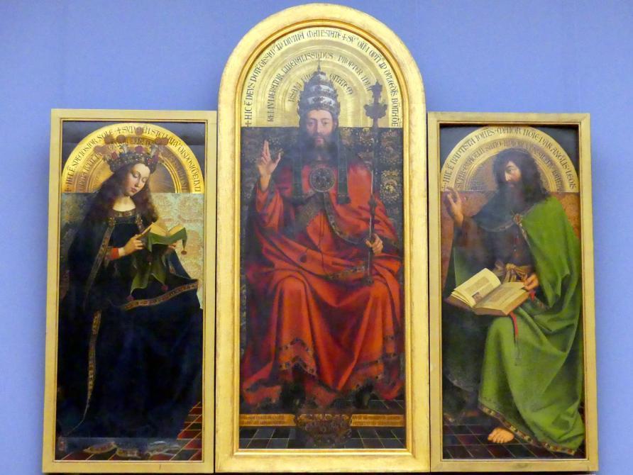 Michiel Coxcie: Thronender Gottvater, 1557 - 1559