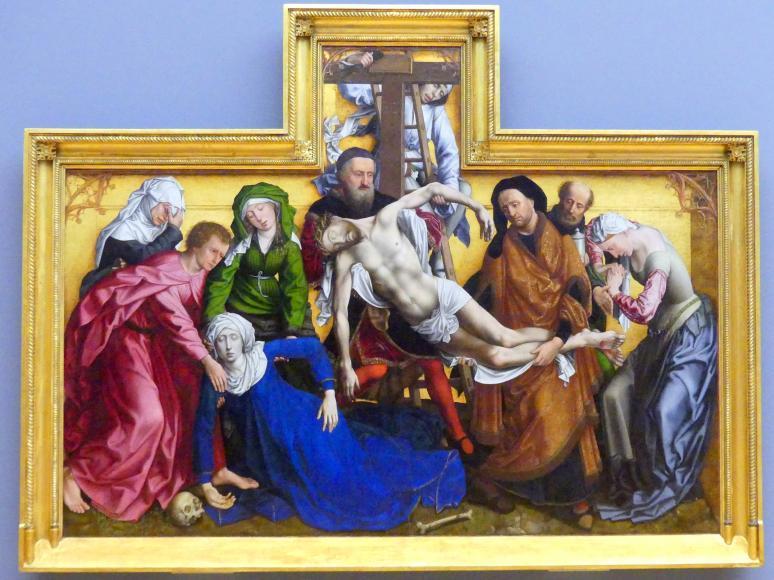 Michiel Coxcie: Kreuzabnahme Christi, 1540 - 1548