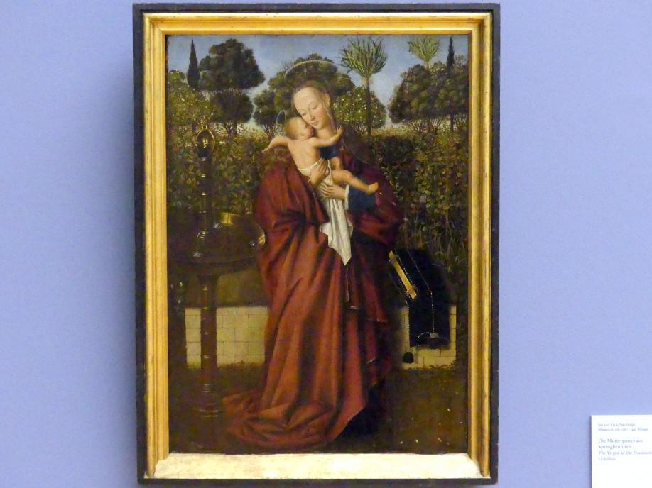 Jan van Eyck (Nachfolger): Die Muttergottes am Springbrunnen, Undatiert