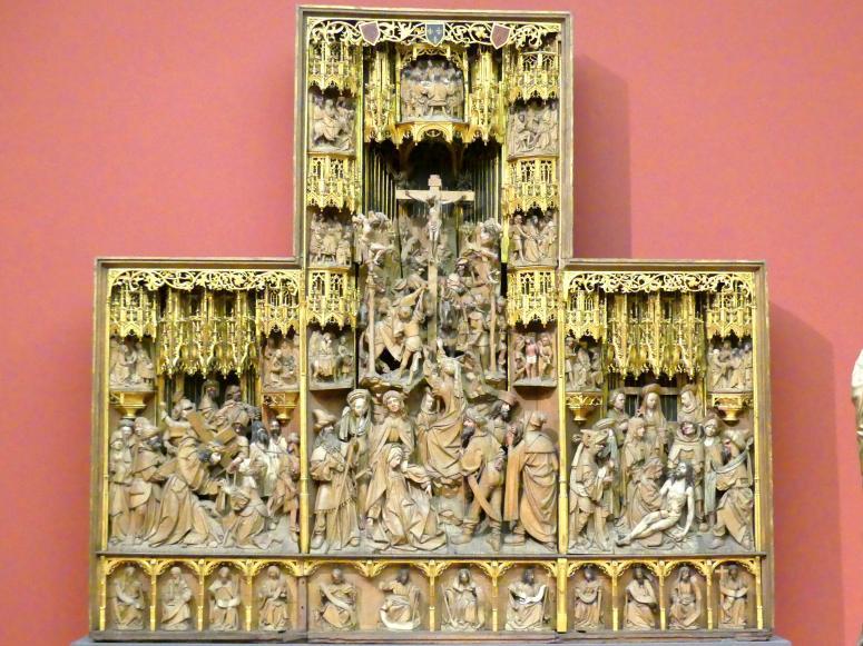Retabel mit Darstellungen aus der Leidensgeschichte Christi, Beginn 16. Jhd.