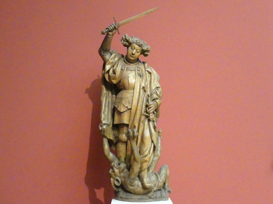 Erzengel Michael im Kampf mit dem Teufel, um 1520